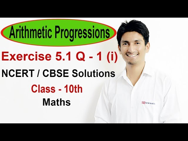 Exercise 5.1 Questions 1 (i) - NCERT/CBSE Solutions for Class 10th Maths || Truemaths