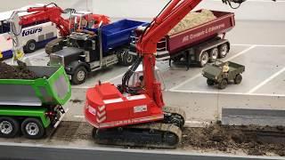 RC EXCAVATOR Traktor RC TRUCK LKW 🚚🚜 ModellBau WELS
