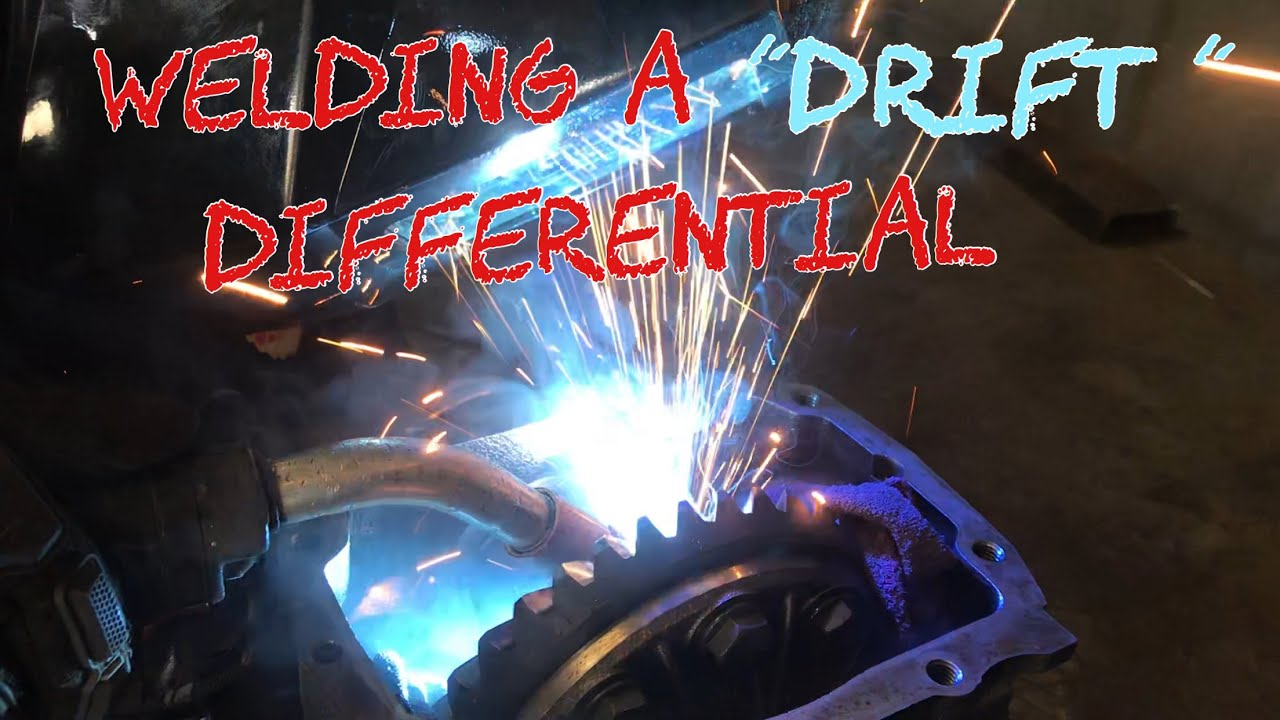 How to weld a differential for drifting - YouTube