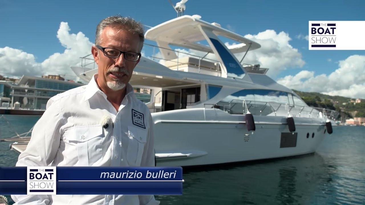 Ita azimut 66 prova the boat show youtube for Prova dello specchio polizia youtube