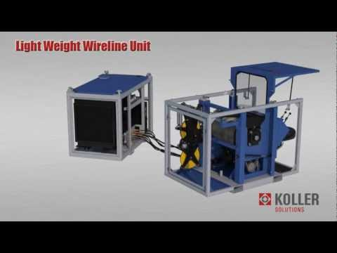 KOLLER Offshore Light Weight Wireline Unit