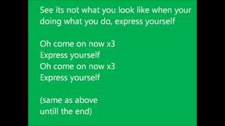 Labrinth - Express yourself (lyrics)