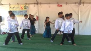 Kushal Kodnad in a dance during Holi festival at Fremont Te