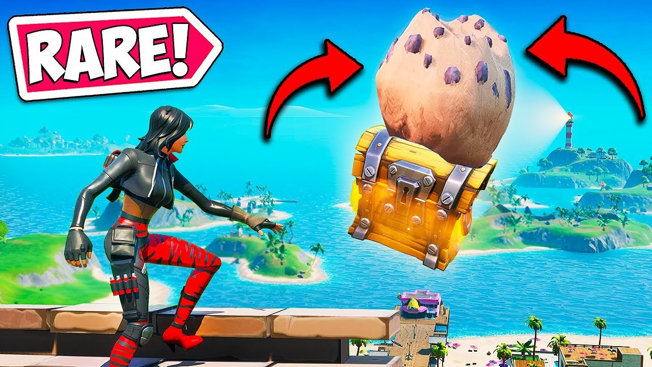 *FIRST EVER* SKY CHEST IS SUPER RARE!! - Fortnite Funny Fails and WTF Moments! #757