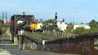 Australian Trains - A day trainspotting at Bunbury St Tunnel - Part 2 thumbnail