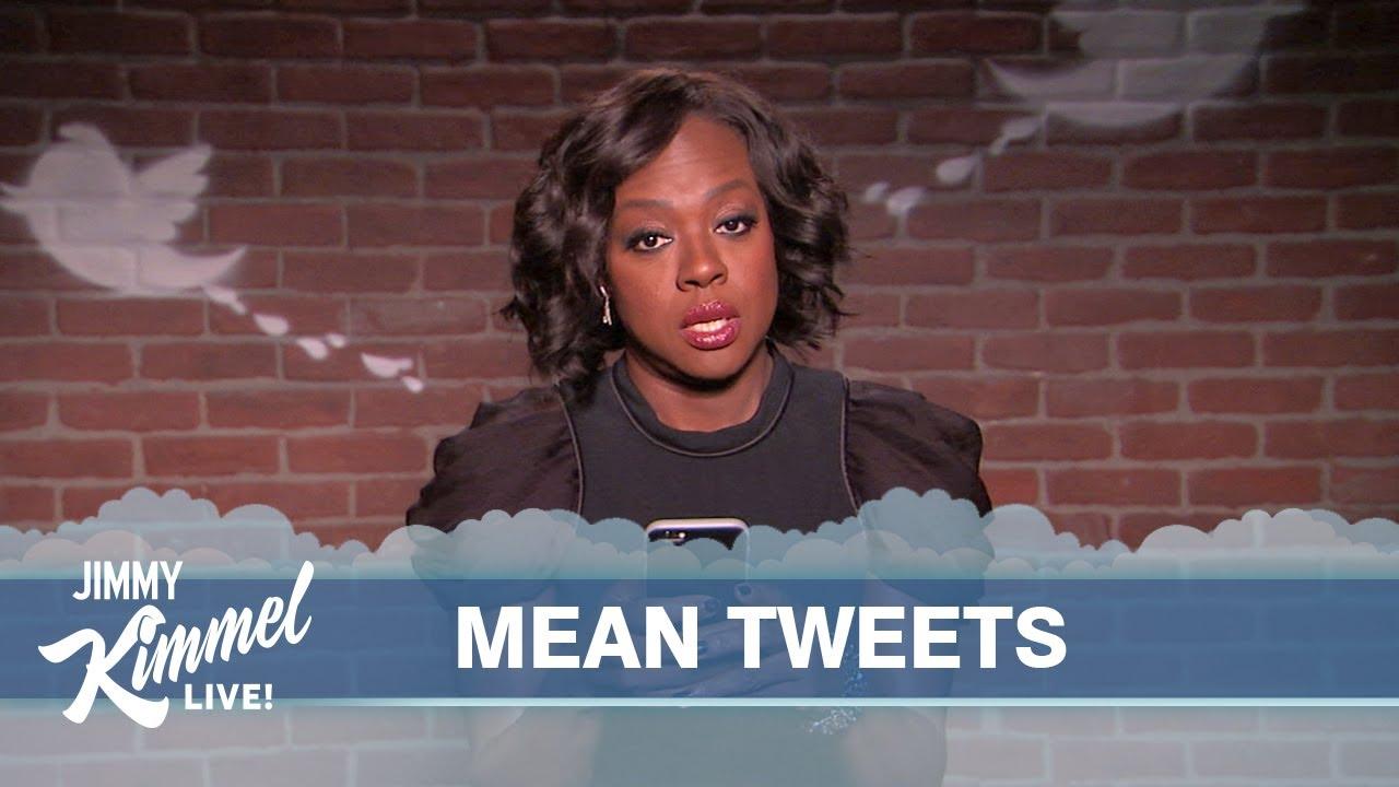 Celebrities Read Mean Tweets #1 - YouTube