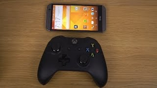 How To Pair Xbox One Controller To HTC One M8