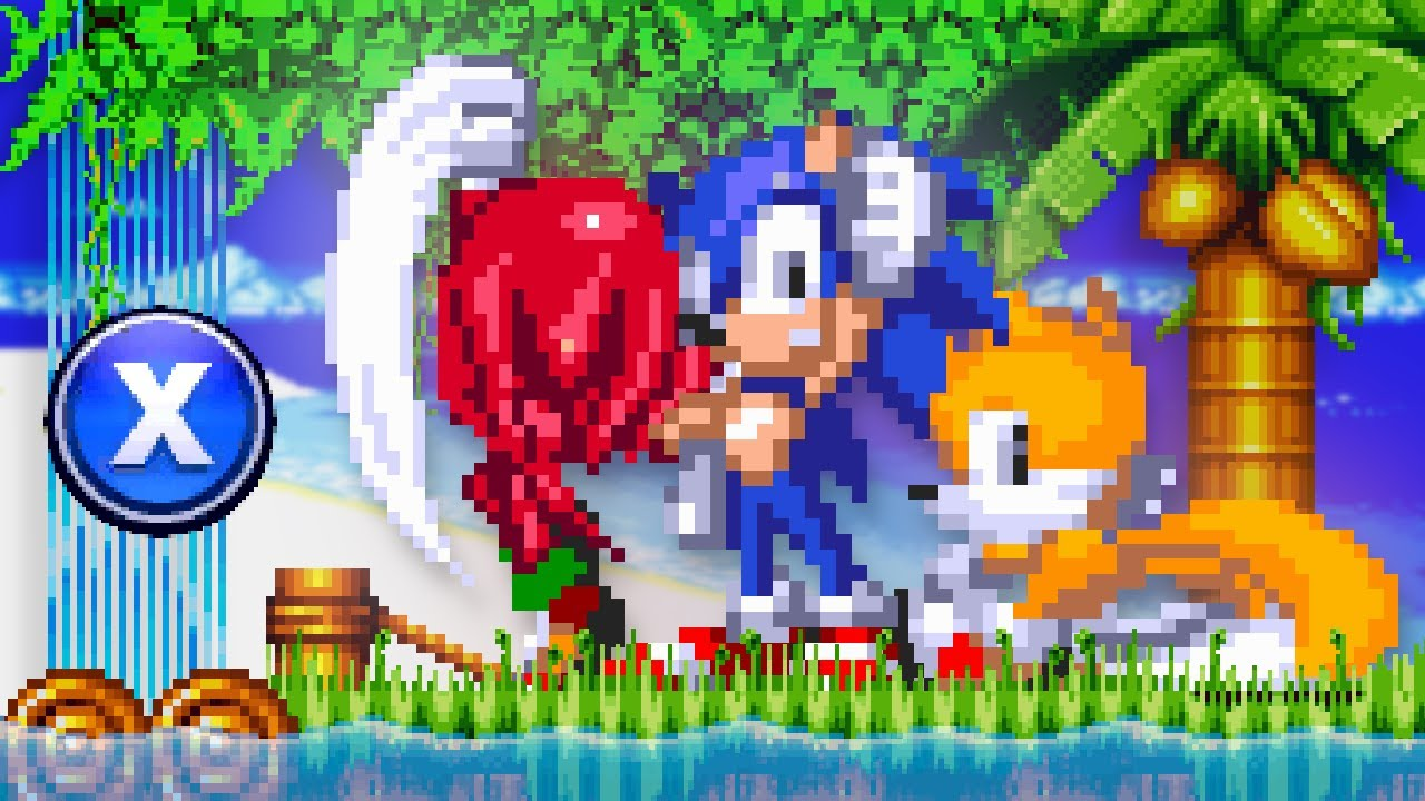 Sonic 3 AIR with New Abilities! (Light Dash, Tail Whip, Mega Punch & More)