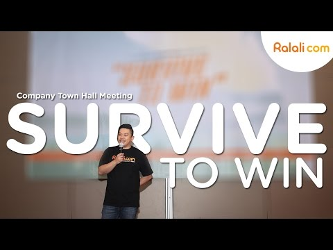 "Company Town Hall Meeting ""Survive to Win"""