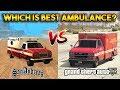 GTA 5 VS GTA SAN ANDREAS (WHICH IS BEST AMBULANCE?)
