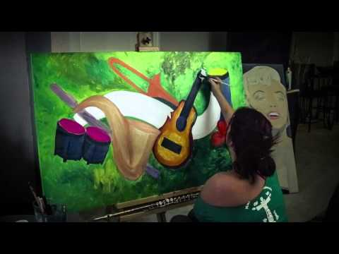 Speed Painting Jessilyn Park Paints Symphony Of The Soul