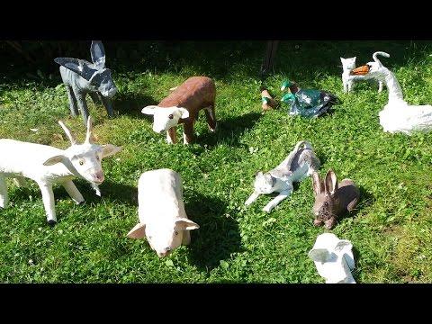 Les animaux de la ferme raconté par Claude Rich - Documentaire animalier
