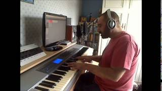 "Piano cover of ""And dream of sheep"" by Kate Bush"