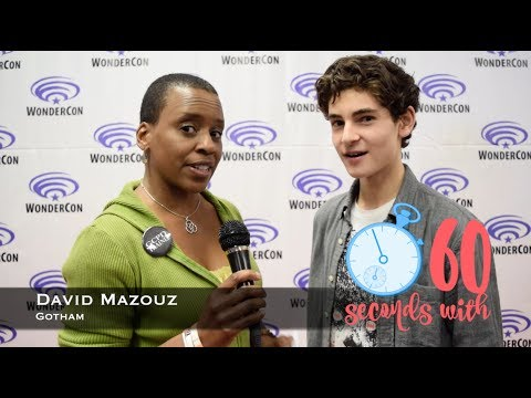 60 Seconds with Gotham's David Mazouz