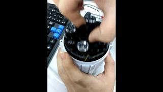 VStarcam C50S TF card installation video tutorial