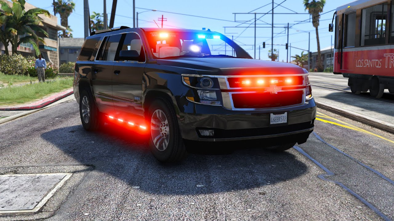 Unmarked Chevy Tahoe - GTA 5 Police Car Mod
