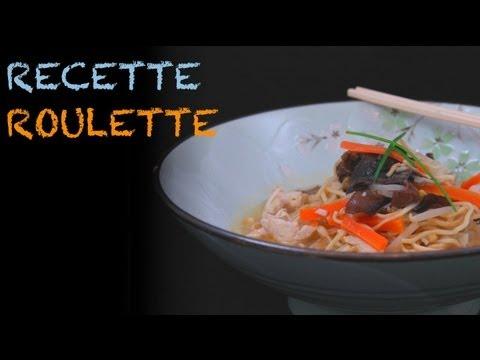 Recette : Soupe chinoise au poulet !