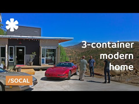 Location On A Budget A Container Home Over A San Diego Hill Youtube