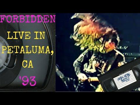 Forbidden Live in Petaluma CA November 27 1993 FULL CONCERT