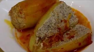 Фаршированный перец. Как фаршировать перец? Фаршированные перцы в томатной подливе.