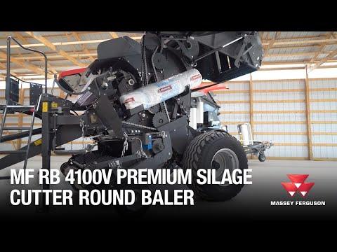 RB4100V Premium Silage Cutter Round Baler