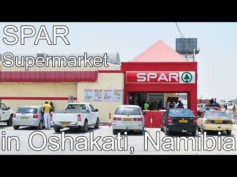 Spar Supermarket in Oshakati, Namibia