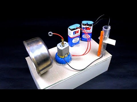 How to make POWERFUL ALARM using DC motor