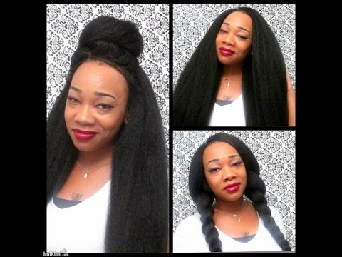 SENSATIONNEL Synthetic Hair Crochet Braided Wig African Coll