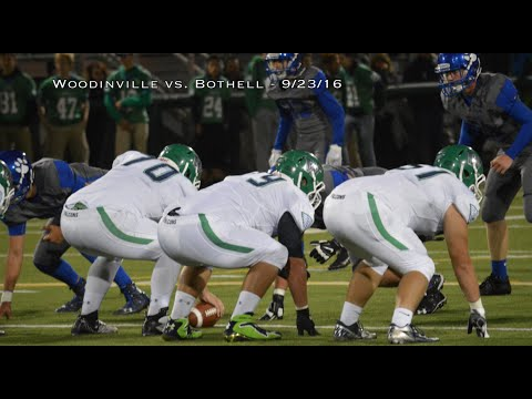 Varsity Football Live Woodinville Vs Bothell 9 23 16 Youtube