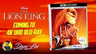 THE LION KING Coming to 4K Blu-ray