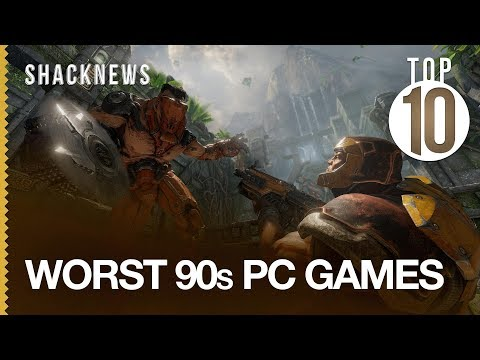 Top 10 Worst 90s PC Games - YouTube