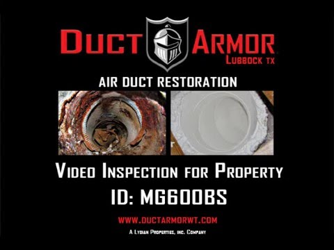 Duct Armor Air Duct Inspection MG600BS