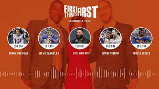 First Things First audio podcast(2.4.19) Cris Carter, Nick Wright, Jenna Wolfe | FIRST THINGS FIRST