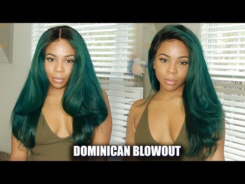 How To Do A Dominican Blowout On Your Lace Wig
