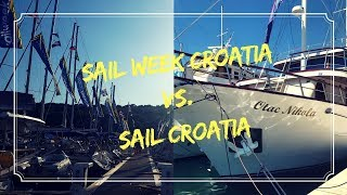 Sail Week Croatia vs. Sail Croatia