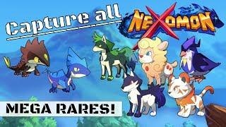NEXOMON Mega Rares: Where to find all basic forms!