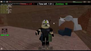 ROBLOX Humano vs Zombie v2.33 / Boss zombie vs all