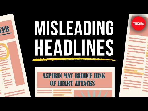 Can you spot the problem with these headlines? (Level 1) - Jeff Leek & Lucy McGowan