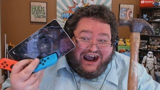 FRANCIS BREAKS A NINTENDO SWITCH DUE TO COPYRIGHT FLAGS!