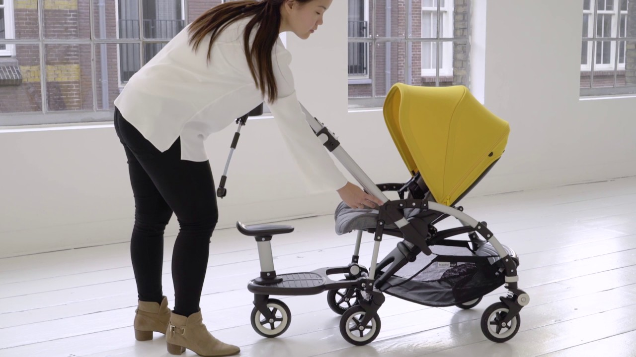 Bugaboo Bee With Buggy Board Bugaboo Bee Demo Accessories