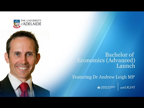 Bachelor of Economics (Advanced) Launch - October 2014