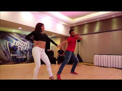 ZoukSEA 2017 Instructor Jack n Jill Competition - Arthur Santos & Larissa Thayane