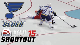 "NHL 15: Shootout Commentary ep. 65 ""St Louis singing the BLUES"""