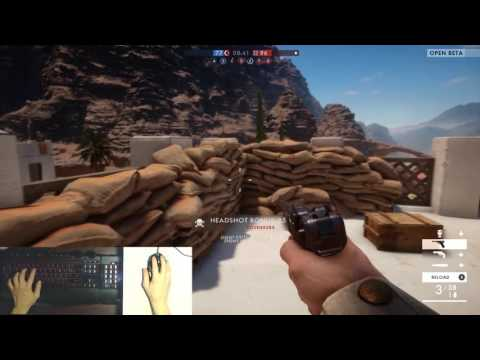 Battlefield 1 - Mouse and Keyboard user MELTS enemies in PS4 by