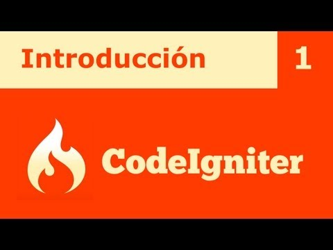 Tutorial CodeIgniter 1: Introducción