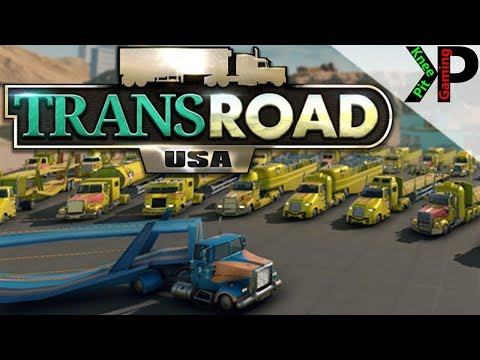 TransRoad:USA Lets Play #6 - Doubling the Company Size - TransRoad:USA Gameplay