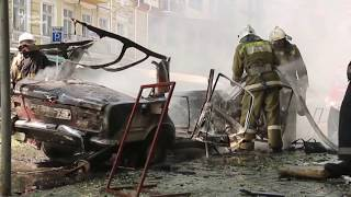 В центрі Одеси вибухнув автомобіль