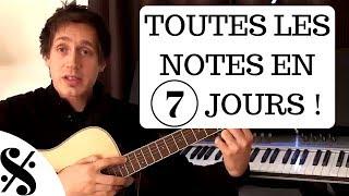 Comment Savoir Toutes les Notes sur Votre Guitare en 7 Jours ( 1 / 7 )