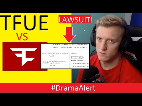 Tfue LAWSUIT against
