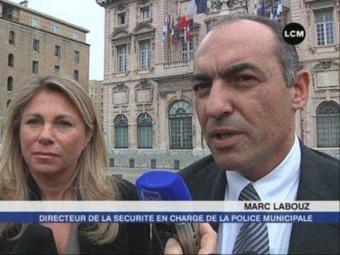 Marc Labouz investit la police municipale (Marseille)